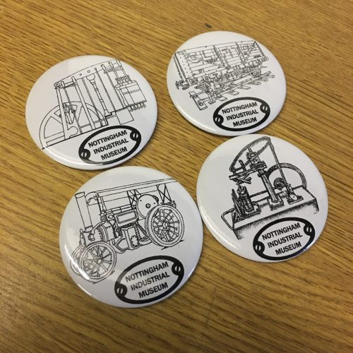 Round Pin Badges Or Magnets