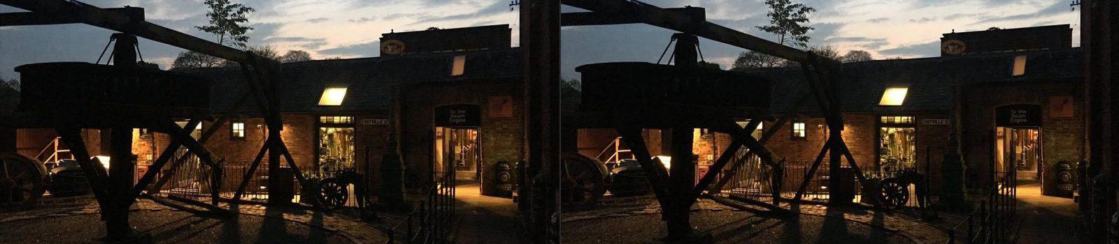Nottingham Industrial Museum At Night